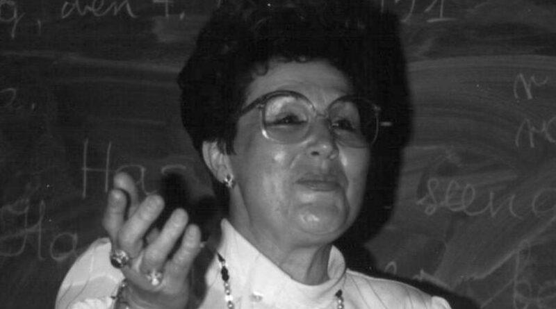 Profesor Krystyna Zaborowska